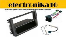 Volkswagen Seat Skoda Marco Montaje Radio 1DIN cableado  telealimentador amplif
