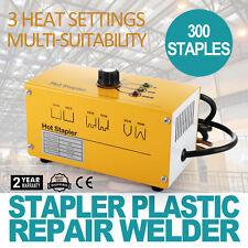 Hot Stapler Plastic Repair Welder Kit 110v With 300 Staples and Snips