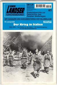 Der Landser Grossband 977, Der Krieg in Italien
