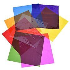 Outus Cello Cellophane Wrap Sheets Wraps, Inch, Colors, 104 Pieces