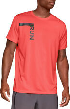 Men's Under Armour Ua Run Tall Graphic T-Shirt 1324500 New Size L