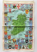 "Vintage Northern Ireland Linen Wall Tapestry Souvenir 29"" x 18"", Causeway"