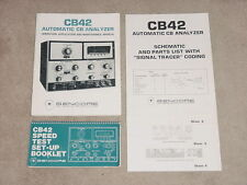 Sencore CB-42 Automatic CB Analyzer, Manual, Docs on CD