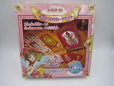 Anime Comic Cardcaptor Sakura CCS All Clow Card Set Bandai Japan Clamp USED