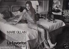 Coupure de presse Clipping 1999 Marie Gillain  (3 pages)