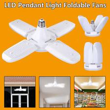 60W E27 LED Garage Shop Work Light Bulb Deformable Ceiling Fixture Light Lamp US