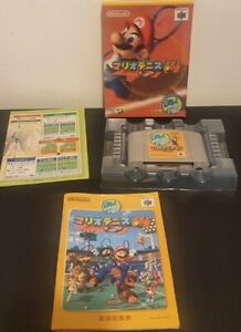 Mario Tennis N64 NTSC Japanese Nintendo 64 | Complete With Manual | Tested