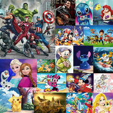 Full 5D Diamond Painting Embroidery Cross Craft Art Mural Kids DIY GIFT Cartoon