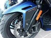 2 ADESIVI 3D PROTEZIONE PARAFANGO compatibili per scooter kymco XCITING S 400 i