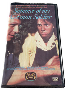 Summer Of My German Soldier Clamshell VHS Tape Rare
