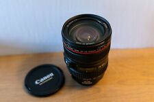 Canon EF 24-105mm F/4L IS USM (Excellent condition) + Lens hood EW-83H + Pouch