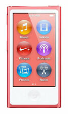 Apple iPod nano 7th Generation Pink 16 GB Mp3 Mp4 Player Touch screen