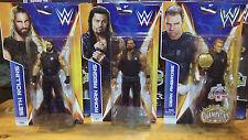 WWE The Shield Mattel Ambrose Rollins Regins Elite Basic Series NEW