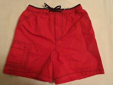 OKIE DOKIE Baby Boys 24 Month Red Shorts NWT Elastic Waist