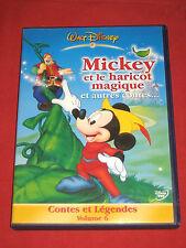 CONTES et LEGENDES Vol 6 - MICKEY et le HARICOT MAGIQUE/Dragon - Disney - DVD