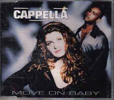 Cappella- Move On Baby cd maxi single 12 tracks Eurodance holland
