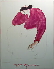 R C Gorman Vinatage Gallery Fine Art  Poster Mint Condition SUBMIT BEST OFFER!