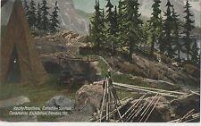 POSTCARD  EXHIBITIONS  Coronation 1911  Rocky Mountains