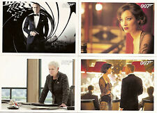 James Bond-autographs and Relics Full 110 Card Base Set