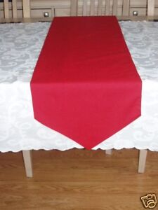 56ins x 7ins COTTON TABLE RUNNER