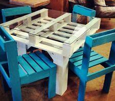 Tavolo in legno con Pallet Bancali EUR  EPAL arredamento 80x120