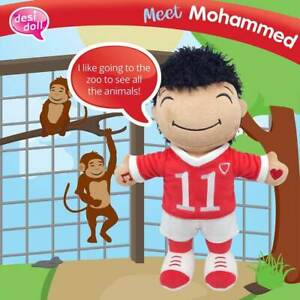 The Desi Doll ® My Little Muslim Friend MOHAMMED Interactive Large Soft Baby Toy