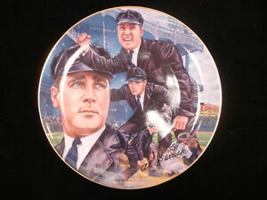"1990 Al Barlick ""Play Ball"" Gartlan Commemorative Plate"