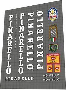 Pinarello Mod. Montello 1985 SLX DECAL SET