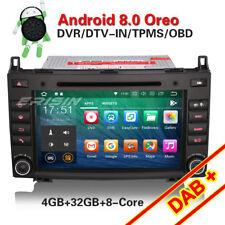 "8""Android 8.0 Autoradio Navi DAB+BT Mercedes A/B Klasse Sprinter Viano Vito W169"