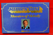 JAMES LAST MAESTRO OF MELODY - READERS DIGEST SET - 4 CASSETTE TAPES - FREE P&P!