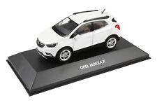 OPEL MOKKA X modello di auto auto da collezione   1:43   abalone Bianco   oc10921