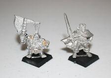 Warhammer Citadel Gotrek & Felix Metal 4380 Gotrek Gurnisson & Felix Jaegar Rare