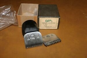 Vintage Oster Model A2 Small Animal Clipper Head With Size 10 & 7 Blade