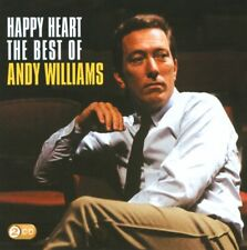 ANDY WILLIAMS (2 CD) HAPPY HEART : THE BEST OF ~ GREATEST HITS *NEW*