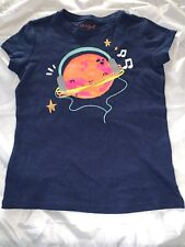 Girls' Short Sleeve Planet Graphic T-Shirt - Cat & Jack - Navy XS SMALL XL  #t42