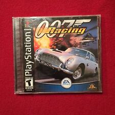 Sony PlayStation PS1 Video Game James Bond 007 Racing Rated T
