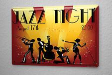 Tin Sign Star Jazz night