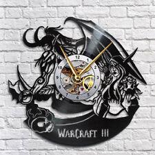 Warcraft Vinyl Wall Clock