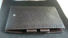 agenda / organizer / porte cartes /porte stylo MONTBLANC Selection cuir marron