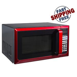 Hamilton Beach Red Microwaves For