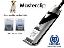 Parson Russell Terrier Dog Clippers Set 3 German Steel Masterclip Blades