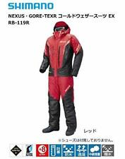 SHIMANO NEXUS GORE-TEX Cold Weather Fishing Suits EX RB-119R RED Japan EMS NEW