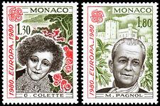Monaco Scott 1227-1228 (1980) Mint NH VF