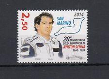 San Marino 2014 20 anniversario morte di Ayrton Senna MNH