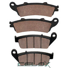 Front Rear Brake Pads For Honda FSC600A Silver Wing ABS 600 2002 03 04 05 06 07