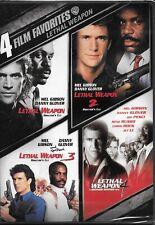 Lethal Weapon 1/Lethal Weapon 2/Lethal Weapon 3/Lethal Weapon 4, New, DVD, Rare