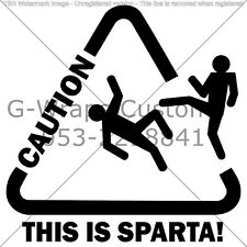 This is sparta car Sticker Very cool High Quality VAG Mazda Seat skoda VW Audi