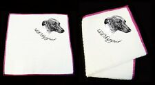 Whippet Dog Sketch Multi Purpose Dribble Duster Towel Cloth by paws2print