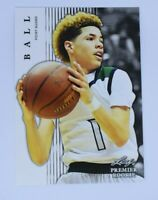 LAMELO BALL 2018 LEAF PREMIER ROOKIE CARD RC 2020 #3 NBA Draft Pick