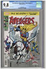 True Believers King in Black Black Knight #1 CGC 9.8 Reprints Avengers #48 1/68